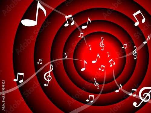 mousic notes flow