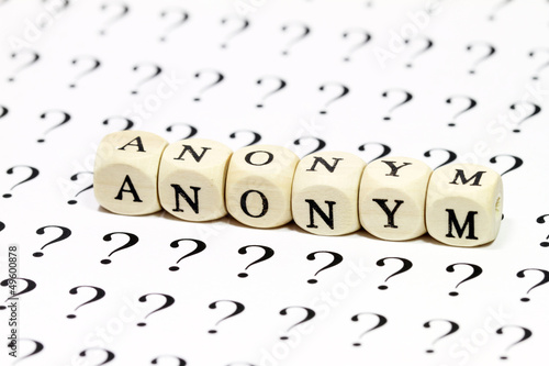 Fotografía  Anonymität