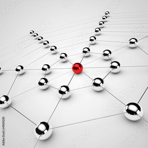 siec-i-media-spolecznosciowe-model-3d