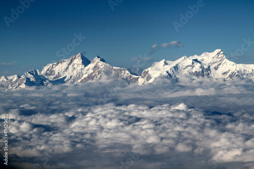 Wall Murals Nepal Nepal - Himalaya mountains 1