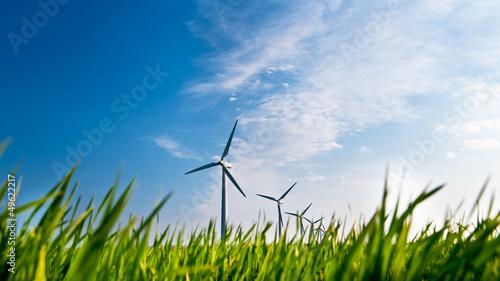 Fényképezés  Windkraftanlage