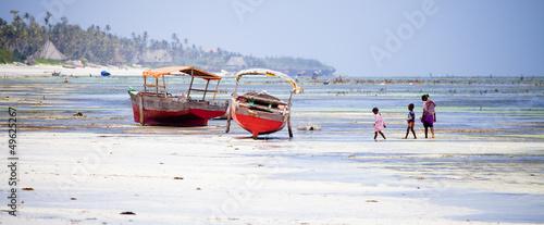 Poster Zanzibar Zanzibar Boats