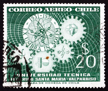 Postage Stamp Chile 1956 Symbo...