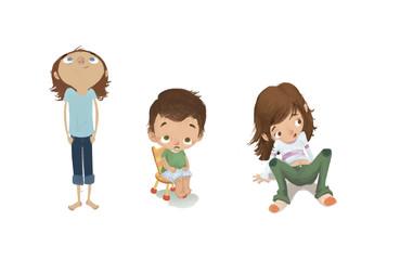 dibujos niños