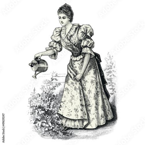 Obraz The Gardener - fototapety do salonu