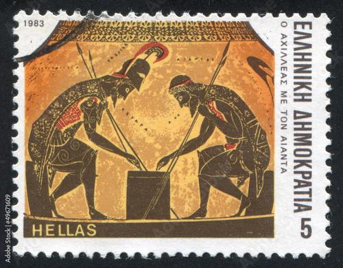 Achilles Wallpaper Mural