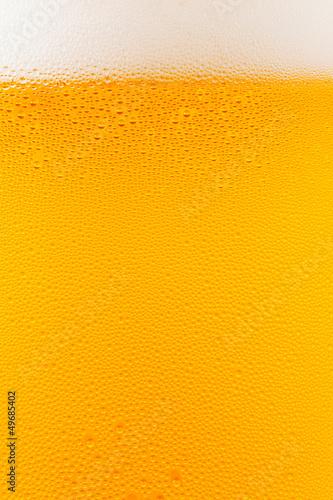 Photo ビールのクローズアップ