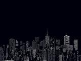 cityscape windows