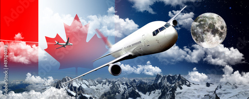 Foto op Plexiglas Canada Canada trip