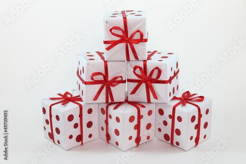 Fotografía  Cajas de regalo