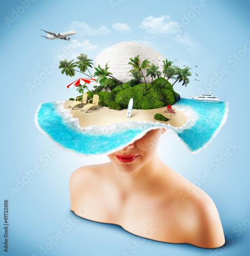 Plakat na zamówienie Traveling