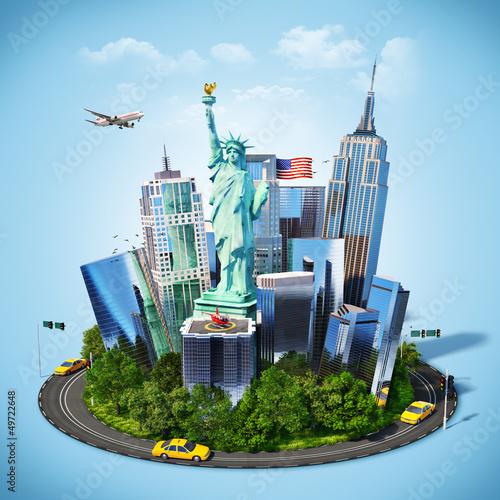 Poster Oceanië America