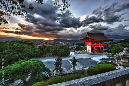Photo sur Toile Japon Kyoto