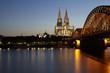 Köln - Kölner Dom am Abend