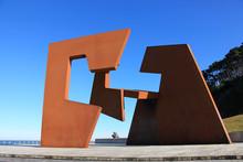 San Sebastián Escultura Oteiz...