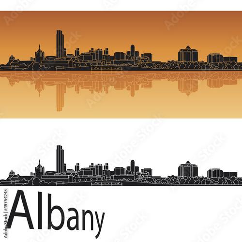 Valokuva  Albany skyline