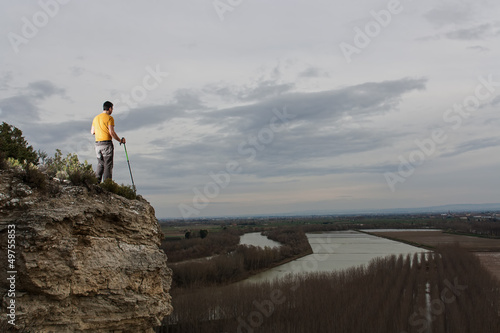 Cadres-photo bureau Lavende treking, aventura