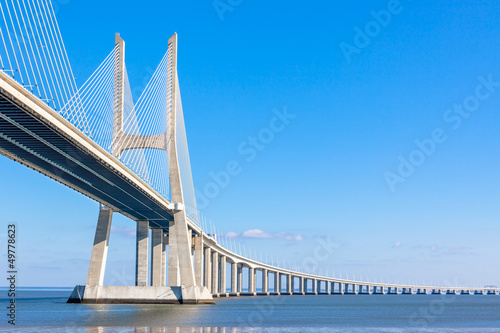 Photo  Vasco da Gama Bridge (Ponte Vasco da Gama), Lisbon