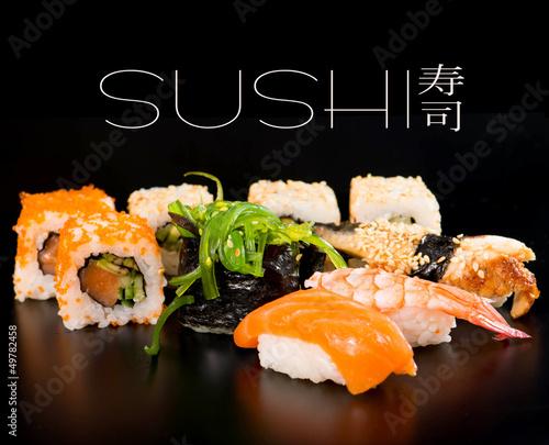 Fotobehang Sushi bar Sushi set