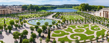 L'Orangerie Garden In Versailles. Paris, France
