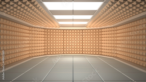 Soundproof room Fototapet