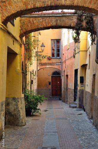 Photo scorcio ad albenga, savona