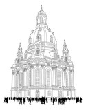 church of our lady - Dresden Germany - Frauenkirche