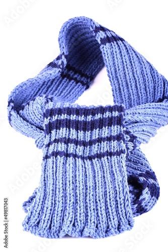 Deurstickers Droogte echarpe torsadé en laine