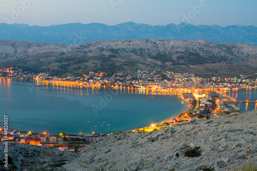 Fotografie, Obraz  Pag, landscapes in Croatia