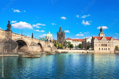 Staande foto Praag Charles bridge in Prague