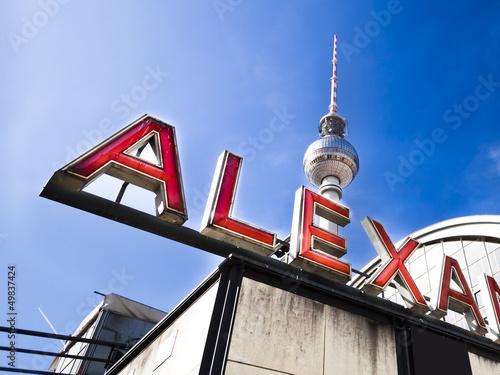 Keuken foto achterwand Berlijn Berlin Alexanderplatz