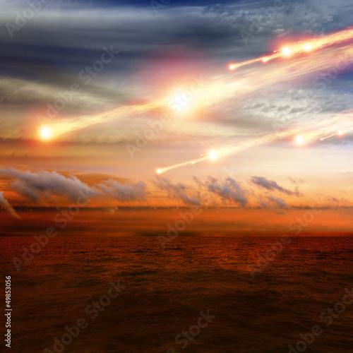 Photo Asteriod impact