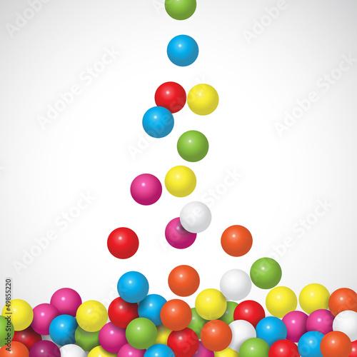 Fotografie, Obraz  candy chewing gum