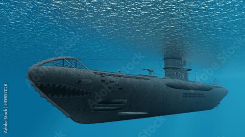 潜水艦 фототапет