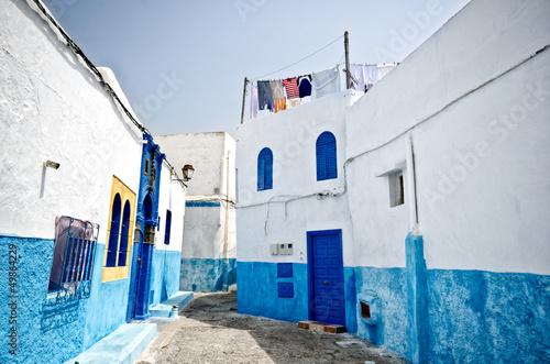 Papiers peints Maroc Street of Rabat, Morocco
