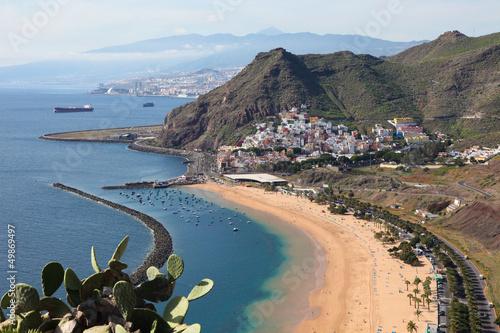 Fotografia  Playa de Las Teresitas at Santa Cruz de Tenerife, Tenerife