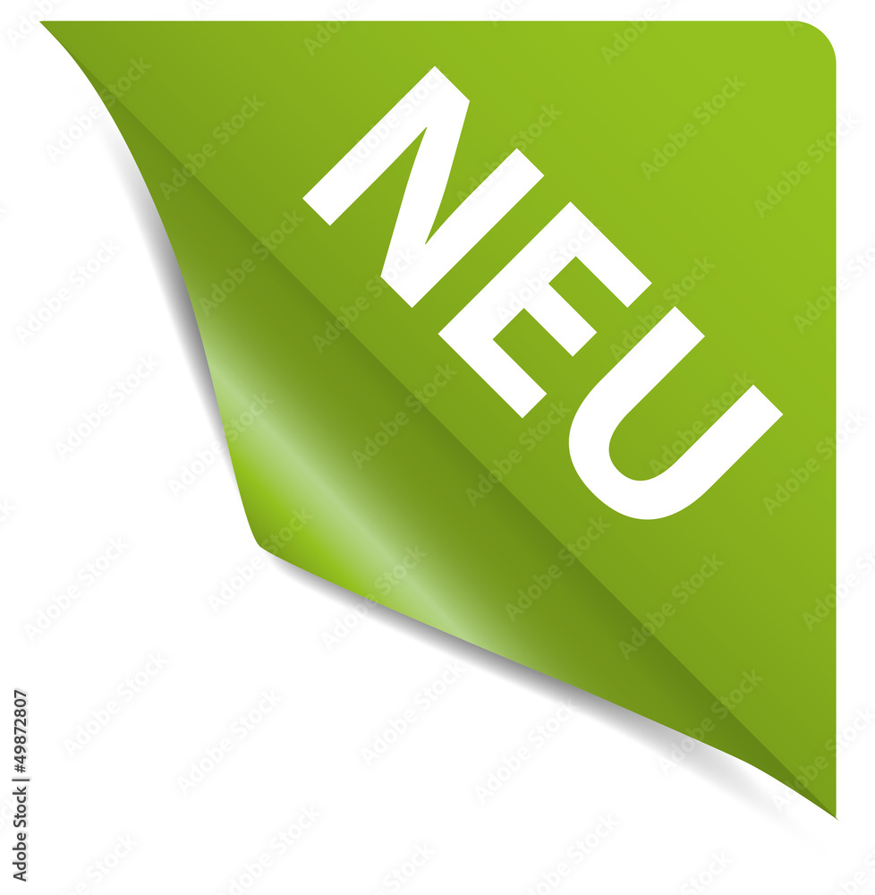 Photo & Art Print Neu / New Ecke grün | EuroPosters
