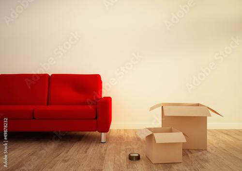Photographie  salon déménagement