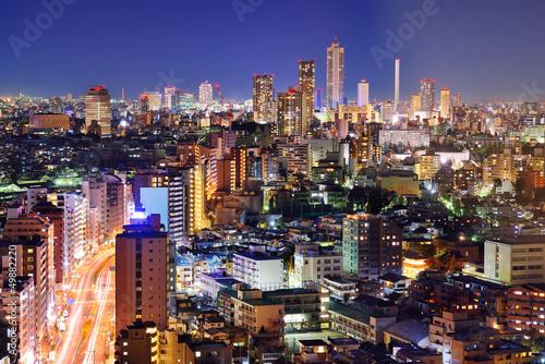 Foto op Canvas Tokyo Tokyo Cityscape
