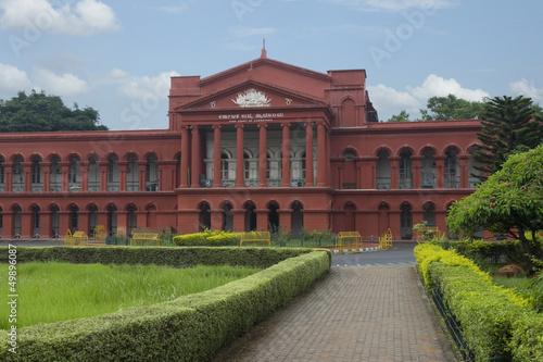 Fotografie, Obraz  Karnataka High Court,Bangalore,Karnataka,India