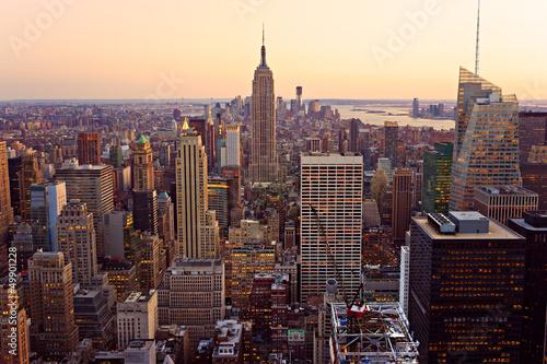 Fototapeta Szczyty Manhattanu