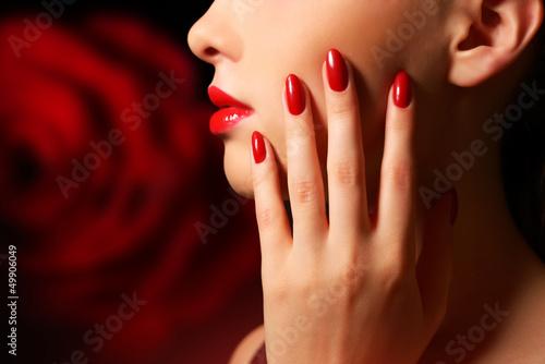 Cuadros en Lienzo Makeup and manicure