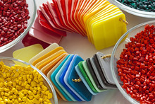 Colorful Plastic Masterbatch Granules And Plastic Sheets