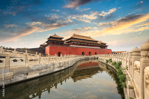 Foto op Plexiglas Peking forbidden city