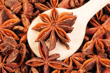 Fresh Anise-star, Nature Spice Background