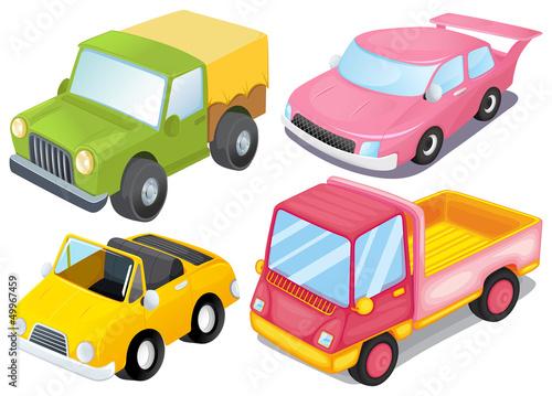 cztery-rozne-rodzaje-samochodow