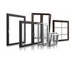 canvas print picture - Verschiedene Fenster