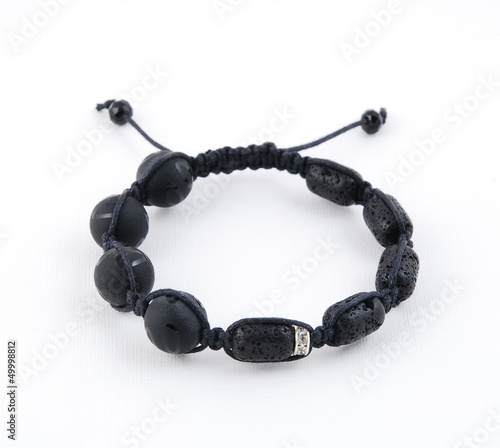 Buddhist Bracelet Shamballa On A White Background Buy This Stock