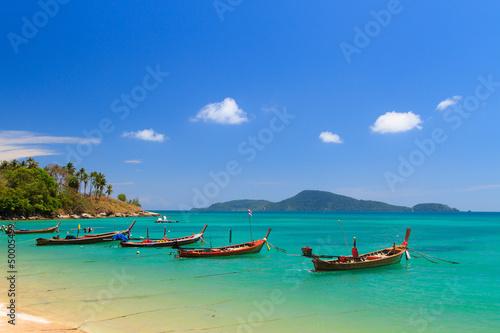 Fotografie, Obraz  Boat in Phuket Thailand