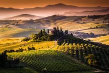 Paesaggio, Toscana - Italia